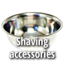 Shaving accesories, bowl, mug, stand, strop