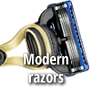 Modern razors, electric razors