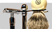 Gift set shaving brush, razor, shaving stand Frank Shaving, Parker buy