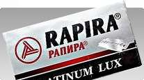 buy Rapira Platinum Lux Double Edge Classic Safety Razor Blades