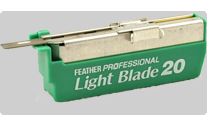 buy Light Blade for shavette straight razor Feather Artist Club SS