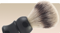 buy synthetic badger shaving brush with silvertip fibre frank shaving