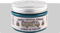 Manly Crystal Pomade