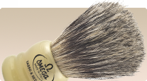 Omega 2 in 1 Hog + Badger 11047 shaving brush