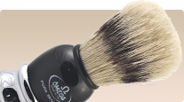 buy professional shaving brush Omega Hog 11648 with boar bristle
