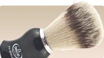Omega Fibre 146206 shaving brush with synthetic bristles