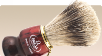 Omega Badger 616 Silvertip gift shaving brush from italy