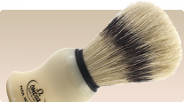 buy shaving brush Omega 80266 with stand