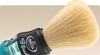 Omega Fibre s10077 synthetic Italian shaving brush