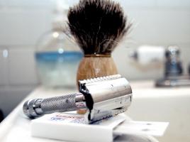 Уход за безопасной бритвой